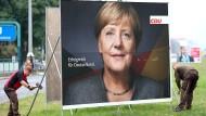 Trotz Verlusten für die Union: An Angela Merkel führt erst einmal weiter kein Weg vorbei.