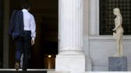 Tsipras' Lächeln ist nur die Fassade