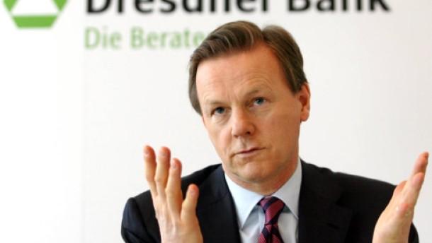 Dresdner Bank schreibt wieder Verlust