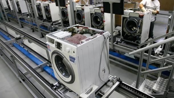 Bosch Kühlschrank Wo Ist Die Typenbezeichnung : Hausgeräte: von siemens bleibt nur das logo wirtschaft faz
