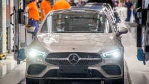 Daimler-Zahlen machen Anlegern Hoffnung