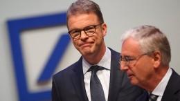 Die Deutsche Bank will es ohne den Staat schaffen