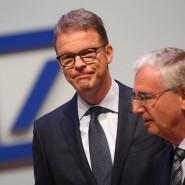 Deutsche-Bank-Vorstandschef Christian Sewing (links) und Aufsichtsratschef Paul Achleitner.