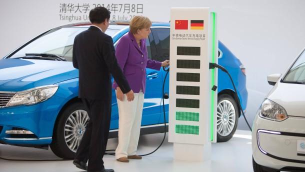 China ordnet Elektroautos an