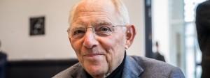 Wolfgang Schäuble wird Bundestagspräsident.