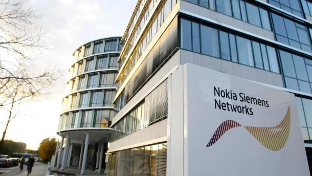 Netzwerkausr Ster Nokia Siemens Schlie T Den Standort