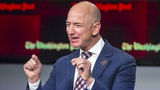 Schwupp, da ist Jeff Bezos 6 Milliarden Dollar reicher