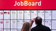 Niedrigste Arbeitslosenzahl seit 1991