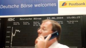 Postbank-Aktie hält sich über Ausgabekurs