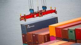 Deutsche Exporte legen im Januar überraschend zu