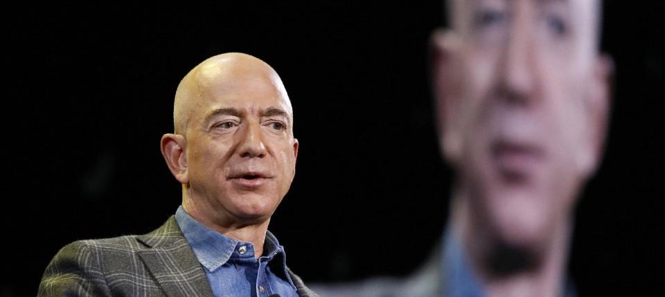 Jeff Bezos trennt sich von Amazon-Aktien