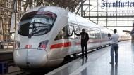 Bahnstreik behindert Zugverkehr