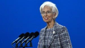 IWF sieht Erholung, aber warnt die Schuldenländer