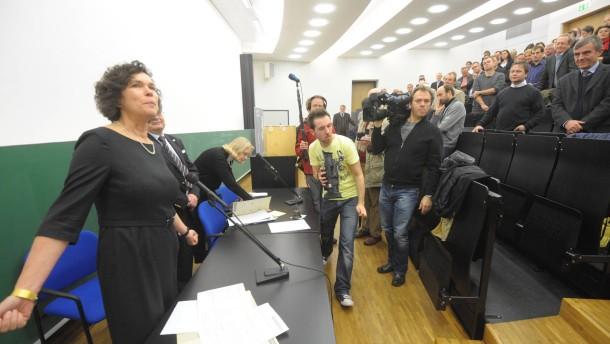 Rektorenwahl an Universität Leipzig