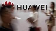 Huawei-Logo in Peking.