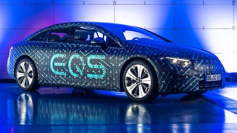 Vom EQS hängt viel ab für Mercedes.