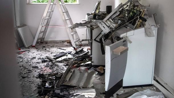 Rund 400 Geldautomaten wurden im Jahr 2020 gesprengt