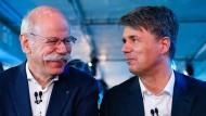 Dieter Zetsche und Harald Krüger erklären die Zusammenarbeit.