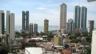 Demnächst gibt's Amtshilfe aus Panama: Skyline der Stadt
