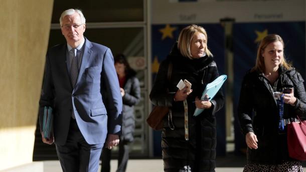EU demonstriert Einigkeit gegenüber Großbritannien