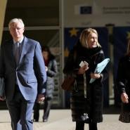 Auf Michel Barnier kommt viel Arbeit zu.