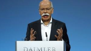 Daimler mauert beim Thema Kartellverdacht
