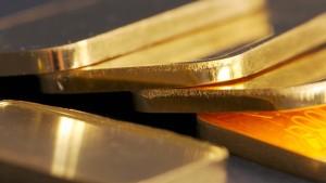 Vor allem Investoren setzen auf Gold