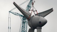 Liefert Ökostrom: Windrad in der Lausitz