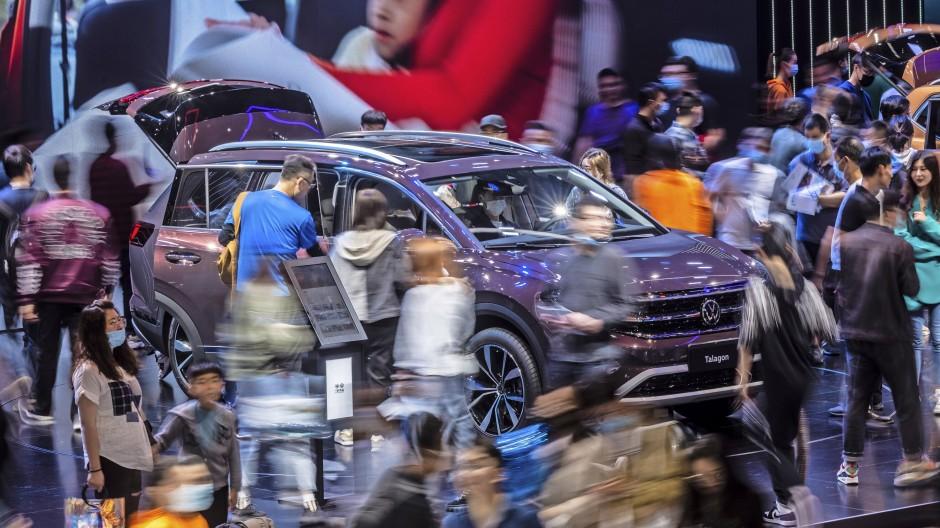 In China reißt sich niemand um die neuen Modelle von Volkswagen.