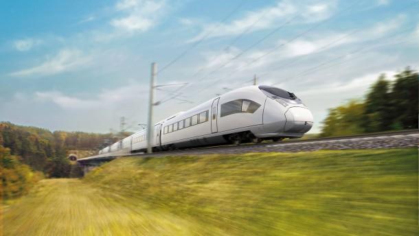 Ein Hochgeschwindigkeitszug für Ägypten