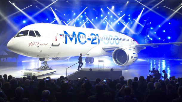 Airbus und Boeing bekommen Konkurrenz aus Russland