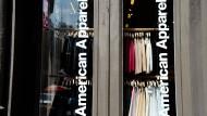 American Apparel: Wir sind vielleicht bald pleite