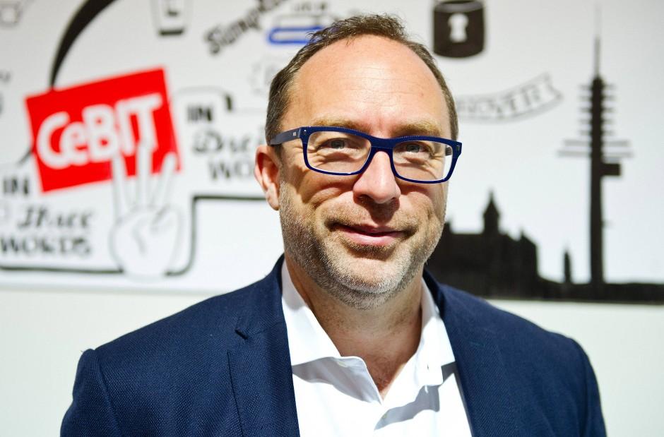 Auch einer der bekanntesten Internet-Gründer weltweit ist zu Gast in Hannover: Wikipedia-Schöpfer Jimmy Wales.