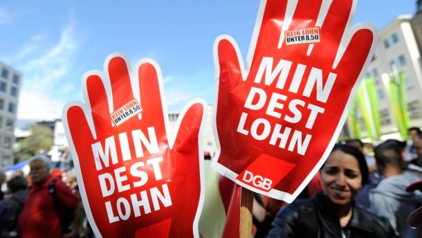 Bündnis gegen Mindestalter beim Mindestlohn
