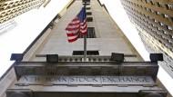Eingang zur New York Stock Exchange