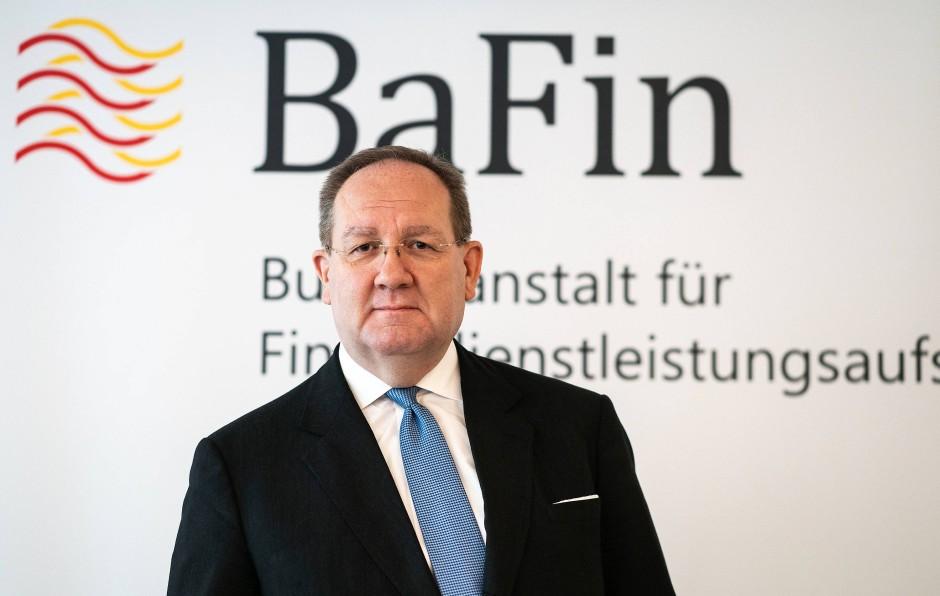 Felix Hufeld, der Präsident der Bafin, der Bundesanstalt für Finanzdienstleistungsaufsicht