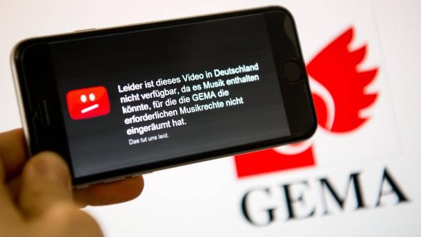 Youtube gewinnt wieder gegen Gema vor Gericht