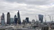 Das Finanzviertel in London