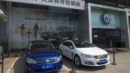 Chinas Elektro-Quote fordert VW heraus
