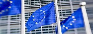 Am Sitz der EU-Kommission in Brüssel: Regelmäßig empfehlen die Kommissare den Mitgliedsländern bestimmte wirtschaftspolitische Ziele.