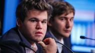 Als leichter Favorit dürfte Magnus Carlsen gegen seinen Herausforderer Sergej Karjakin trotz allem in die Stichkämpfe gehen.