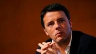 Matteo Renzi ist Bürgermeister von Florenz.