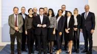 """Gruppenfoto: Minister Hubertus Heil und sein """"Rat der Arbeitswelt"""""""