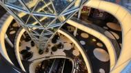 Frankfurts Einkaufszentrum MyZeil: Der Konsum trägt gerade stark zum deutschen Wirtschaftswachstum bei.
