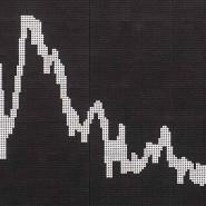 Die Kurve im Handelssaal der Frankfurter Börse.