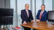 Bert Flossbach (rechts) ist der eigentliche Vermögensverwalter, Kurt von Storch hingegen für die Kundenbetreuung zuständig.