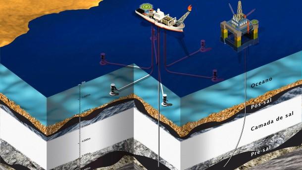 Brasilien lässt Tiefsee-Ölfeld ausbeuten