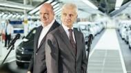 Die Zwei aus Wolfsburg: VW-Betriebsratschef Bernd Osterloh (links) und VW-Vorstandsvorsitzender Matthias Müller
