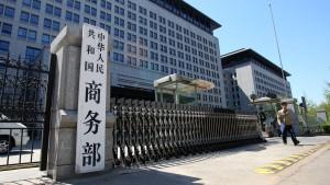 China verlangt Strafzölle für Chemikalie