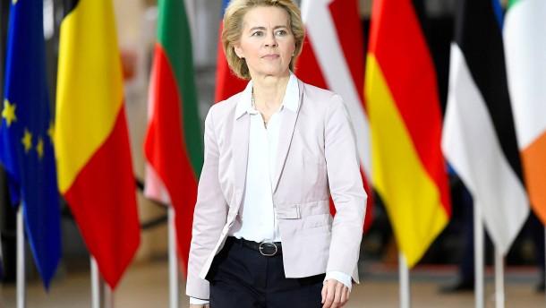Wie Leyens Plan für Kurzarbeitergeld in der EU aussieht